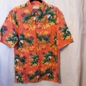 Island Republic Hawaiian Shirt short Sleeve